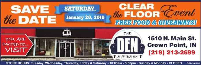 Clear The Floor Event At The Den At 15101510 North Main