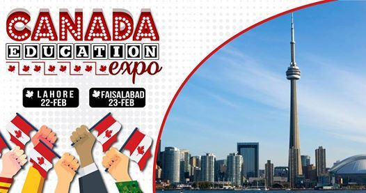 Canada Education Expo at Serena Hotel Faisalabad on 23 Feb(12-7)