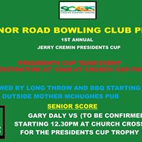 Jerry Cremin Presidents Cup