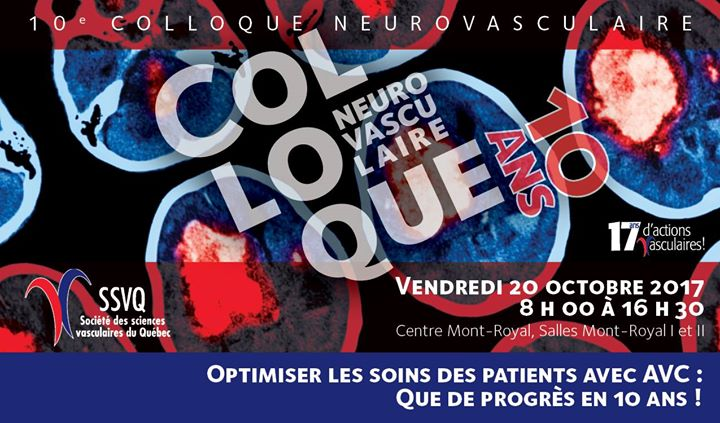 10e Colloque neurovasculaire