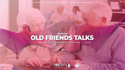Erasmus Old Friends Talks by ESN Coimbra