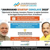 Jharkhand Startup Conclave 2018