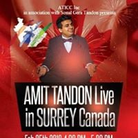 Stand up Comedian Amit Tandon live in Surrey Canada