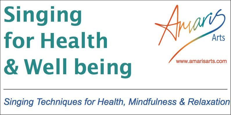 Singing for Health & Wellbeing FREE taster anytime