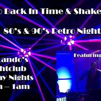 80s &amp 90s retro Night