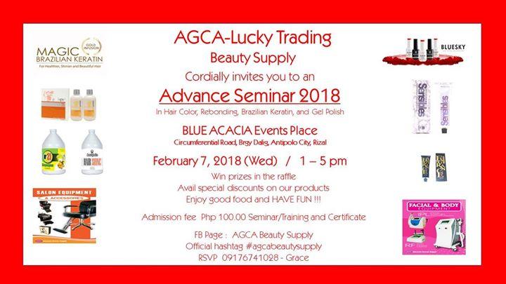 Advance Seminar 2018