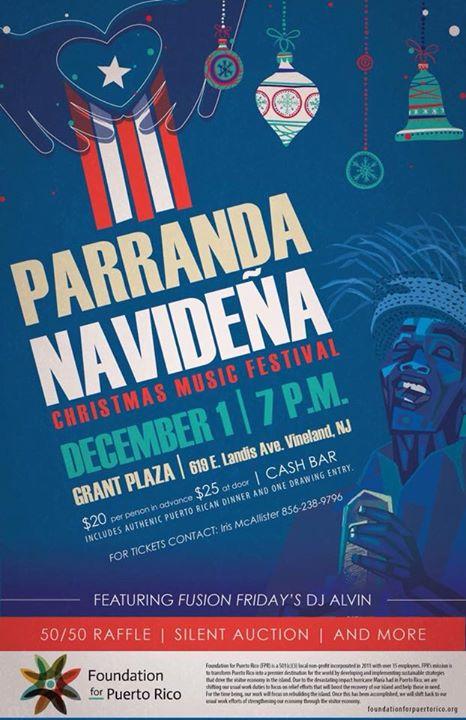 puerto rican christmas fundraiser - Puerto Rican Christmas Music