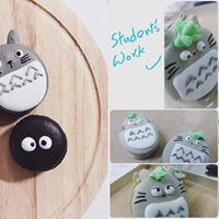 ONLY 1 SEAT LEFT - Totoro Themed Macaron Class (Practical Class)