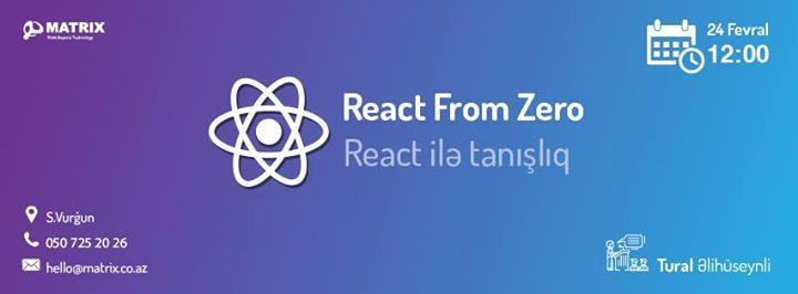 Matrix React from Zero