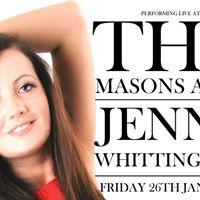 Jenny whittingham live The Masons arms