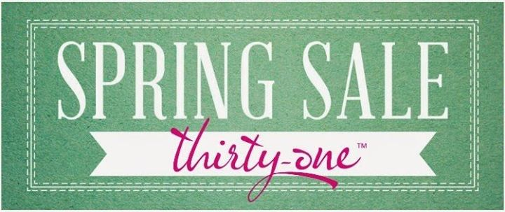 Thirty One Spring Inventory Sale