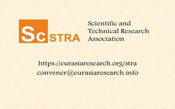 ICSTR Istanbul  International Conference on Science & Technology Research 08-09 August 2019