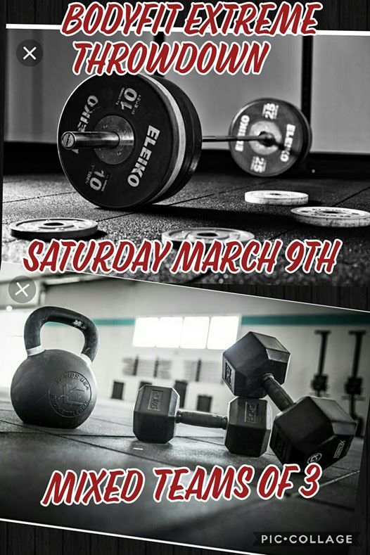 BodyFit Extreme Throwdown