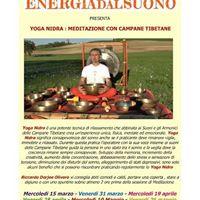 Meditazione e Yoga nidra con Campane tibetane e Gong