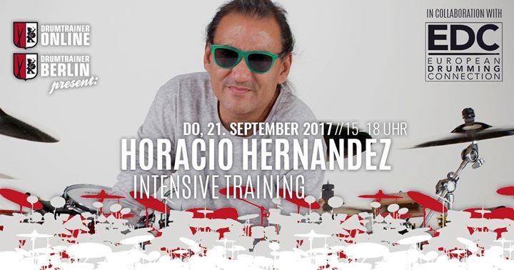 Intensive Training mit Horacio El Negro Hernandez