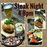 Steak Night at The O Bar in Cape Coral