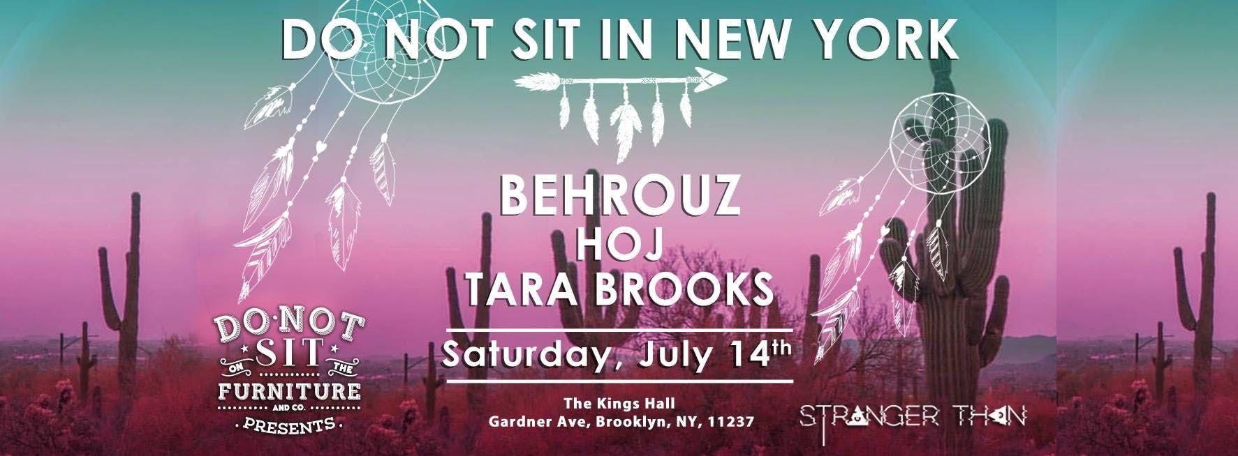 DO NOT SIT IN NY
