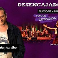 Desencajados Filosofa &amp Msica. Dario Sztajnszrajber Rosario