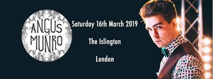 Angus Munro - London  March 2019