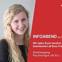 Frankfurt Infoabend Master Psychologie