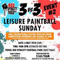 3vs3 Leisure Paintball Sunday - Event 2