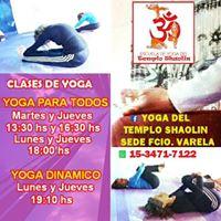 Clases de Yoga durante 2017