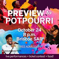 Preview to Potpourri