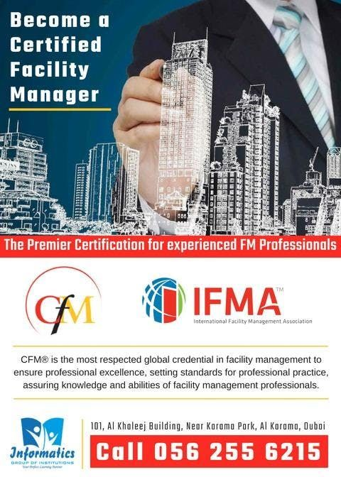 Become A Certified Facility Manager At Informatics Group Of