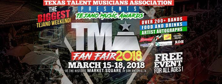 Tejano Music Awards Fan Fair 2018