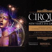 Cirque Gala NYE 2018