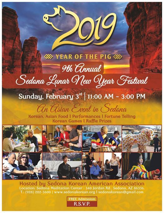 The 9th Annual Sedona Lunar New Year Festival