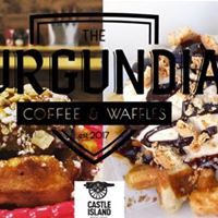 Liege Waffles at Castle Island Brewery