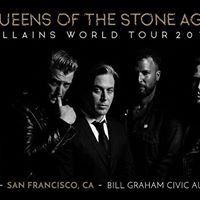 Queens of the Stone Age Concert at Bill Graham Civic Auditorium