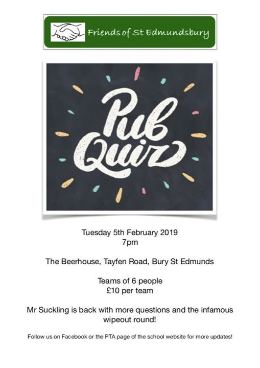 Pub Quiz take II at The Beerhouse1 Tayfen Road, IP32 6B Bury