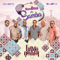 Bamboa do Samba com Fundo de Quintal