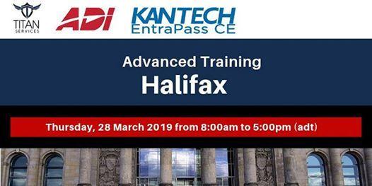 Halifax Advanced Kantech Training - ADI