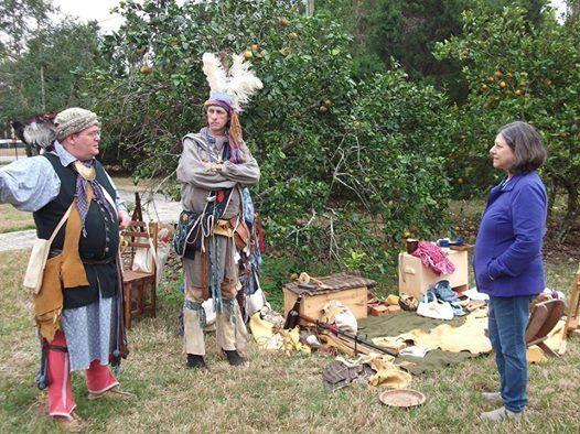 Seminole War Encampment Living History at the Museum