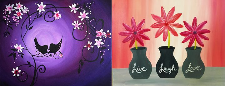 Canada Paint Nite  Off May