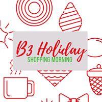 B3 Holiday Shopping Morning