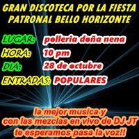 Discoteca Por La Fiesta Patronal De Bello Horizonte