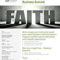 2017 Faith-Based Business Summit
