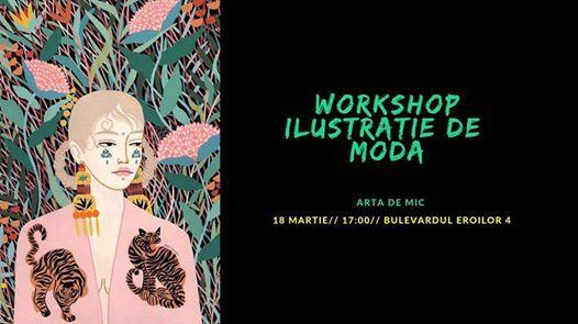 Workshop ilustratie de moda