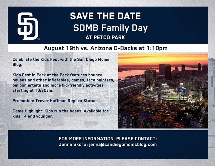 kids fest and padre game with sdmb at petco park san diego