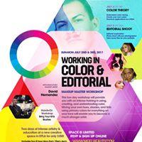 Working in Color &amp Editorial  2 Day Master Workshop