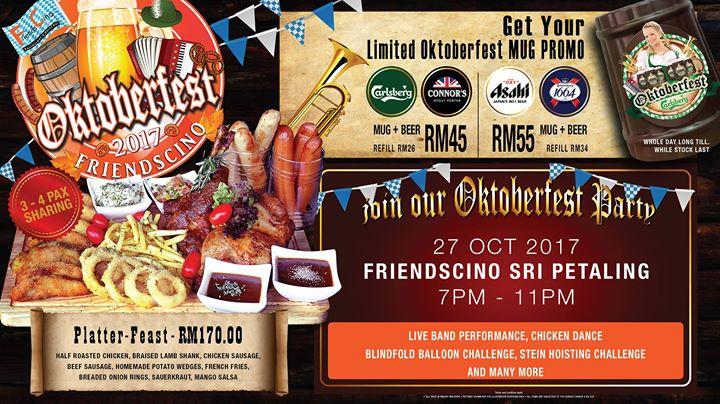Friendscino Sri Petaling Oktoberfest Party 2017 | Kuala Lumpur