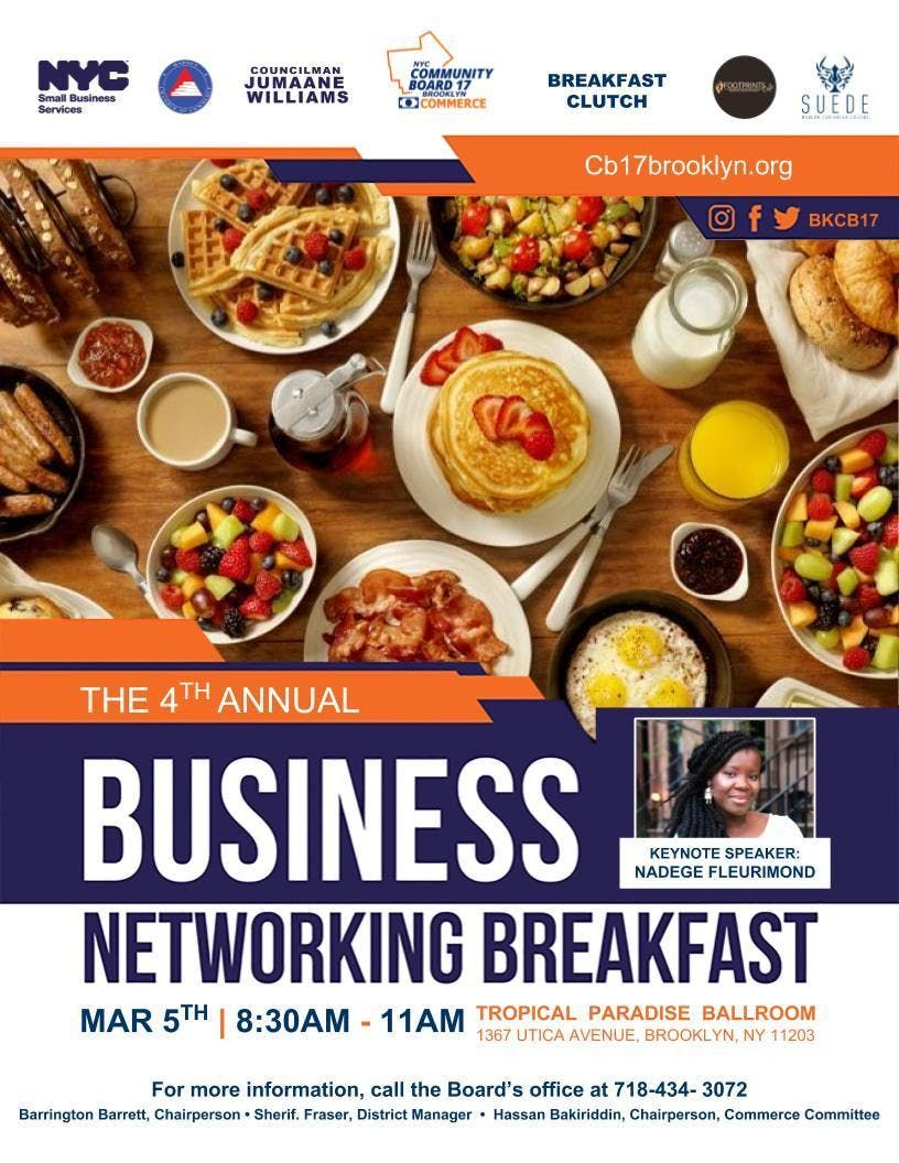 4th Annual Business Networking Breakfast