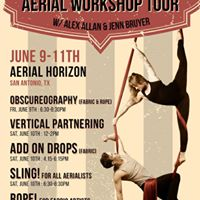 Workshops with Alex Allan and Jenn Bruyer