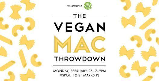 Vegan Mac Throwdown 2019