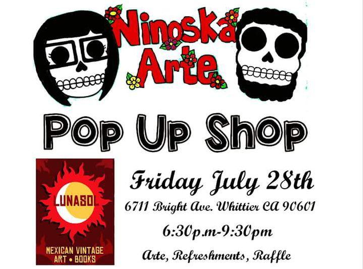 Ninoska Arte Pop Up Shop   LunaSol Mexican Vintage  df701b53023