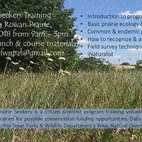 Prairie Seekers Training